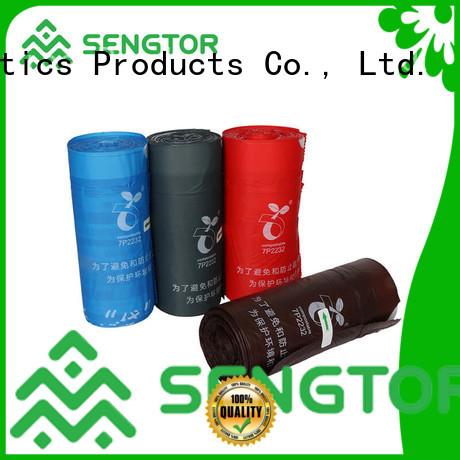 Sengtor black biodegradable bags manufacturers owner for worldwide customers