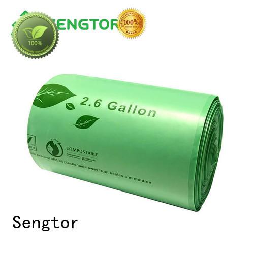 Sengtor liner biodegradable kitchen trash bags wholesale for cleaning