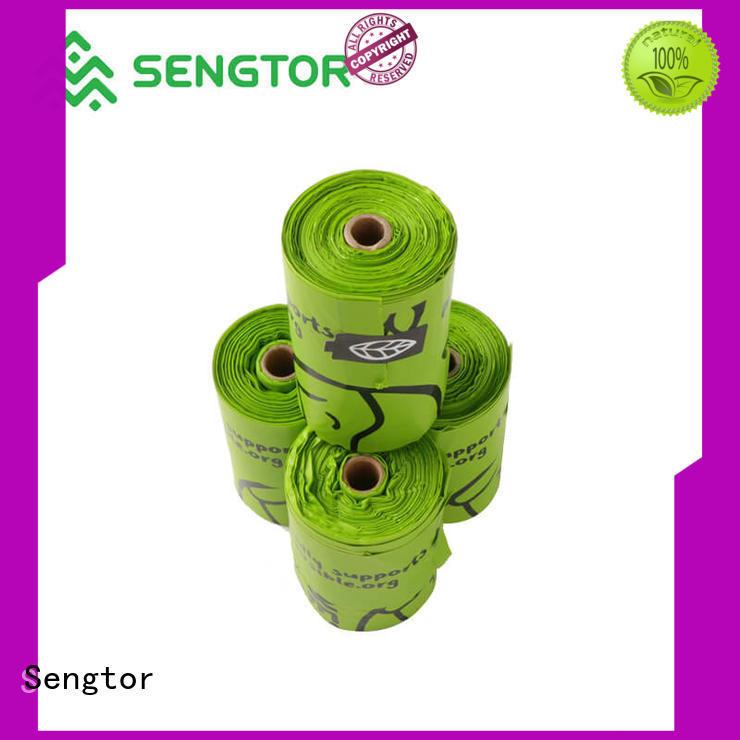 Sengtor dog biodegradable bags manufacturers owner for shopping