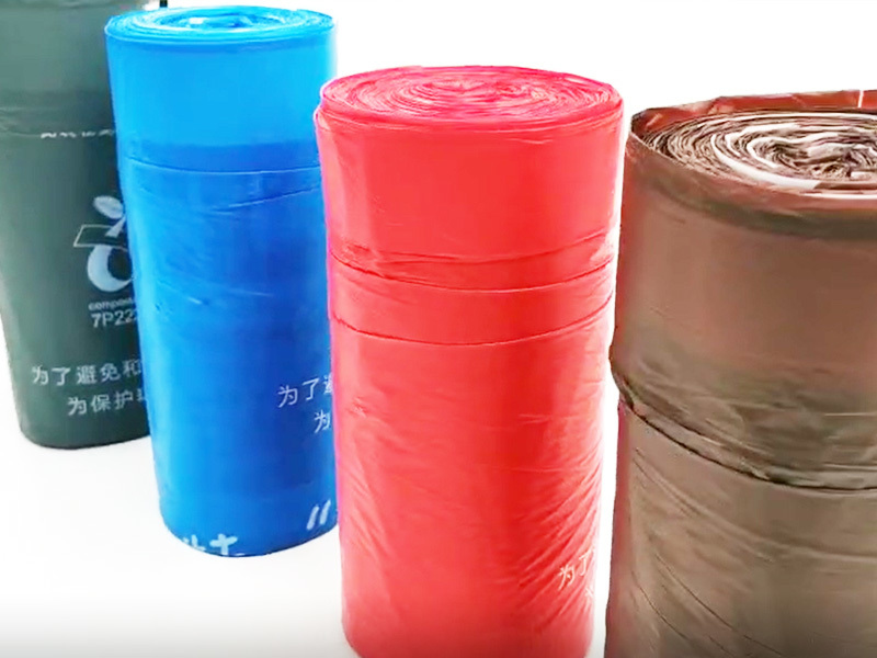 drawstring trash bag 100% compost bag 13 gallon