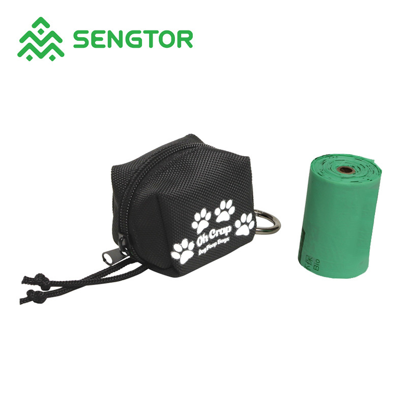 dog waste bag with holder bag