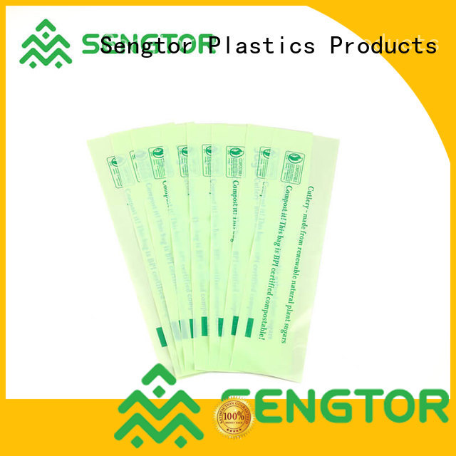 Sengtor cornstarch biodegradable recycling bags owner for worldwide customers