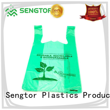 Sengtor turquoise biodegradable bags manufacturers owner for worldwide customers