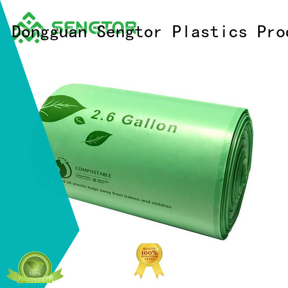 Sengtor compost biodegradable food bags factory price for cleaning