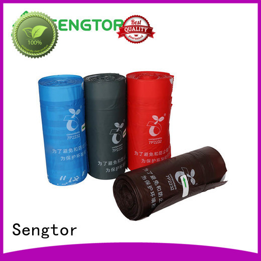Sengtor bin 13 gallon trash bags bulk owner for cleaning