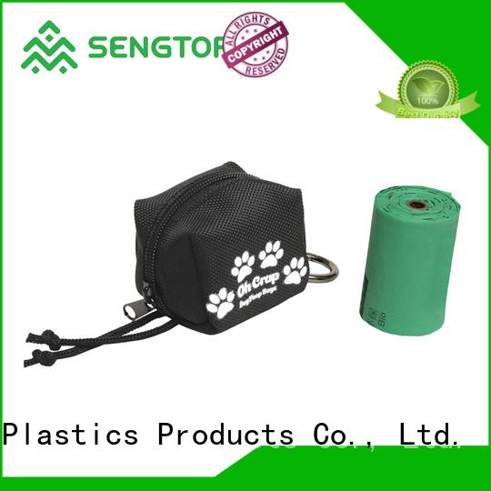 Sengtor holder compostable dog poop bags bulk production for cleaning