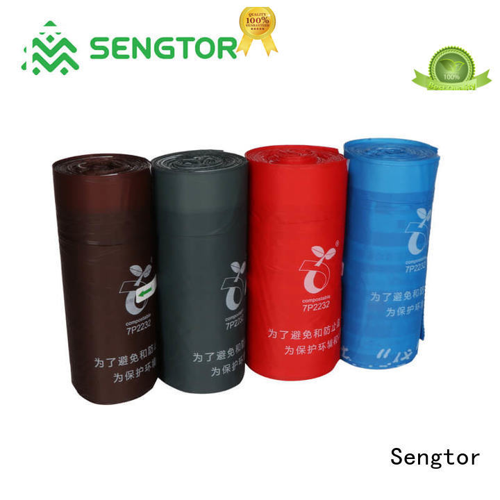 Sengtor poop biodegradable bags manufacturers China for worldwide customers