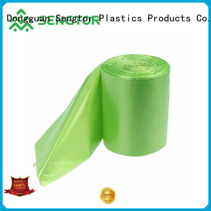 A Grade biodegradable garbage bag manufacturers rated factory for worldwide customers