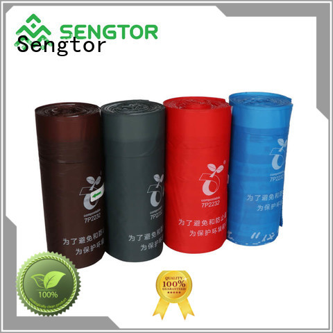 Sengtor pet food waste bags factory price for worldwide customers