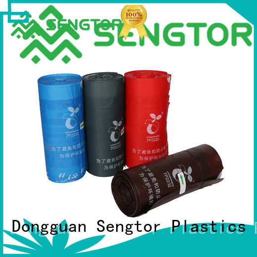 Sengtor safety biodegradable garbage bags wholesale for shopping