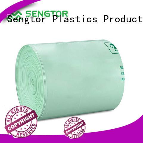 Sengtor trash biodegradable garbage bags experts for worldwide customers