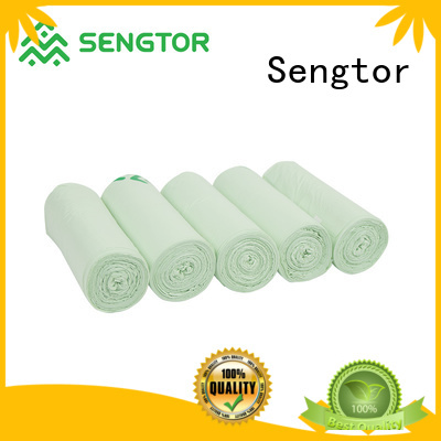Sengtor safety biodegradable dustbin bags wholesale for worldwide customers