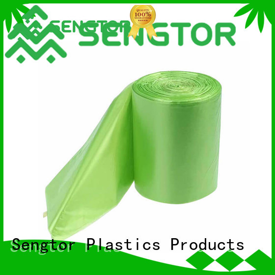 Sengtor floral bio compostable bags bulk production for cleaning