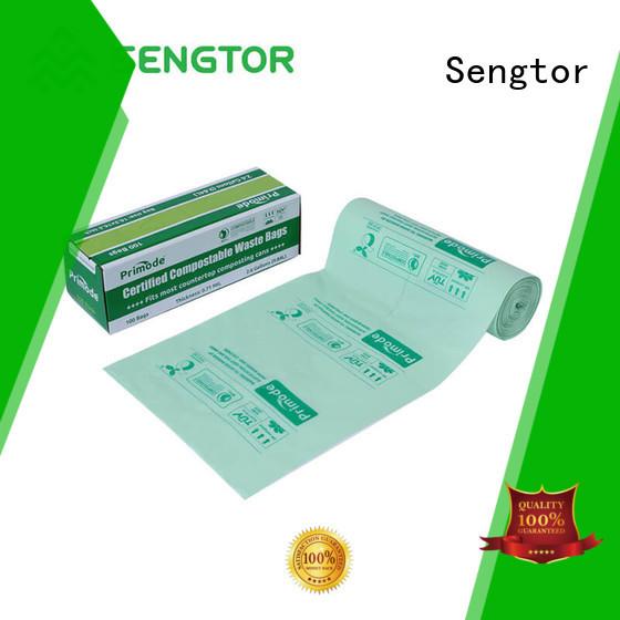 Sengtor drawstring biodegradable kitchen trash bags wholesale for shopping