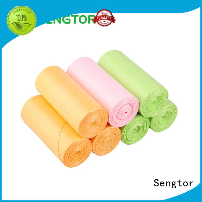 advanced paper trash bags green wholesale for cleaning