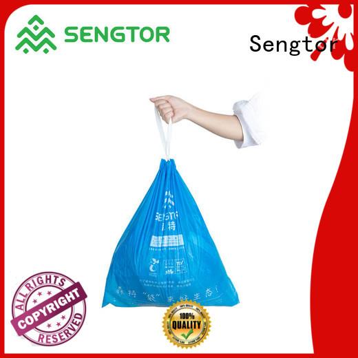 Sengtor waste drawstring garbage bags wholesale for worldwide customers