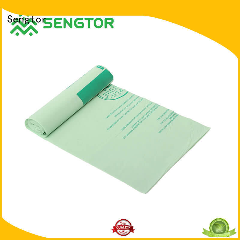 Sengtor garbage drawstring trash bag factory price for worldwide customers