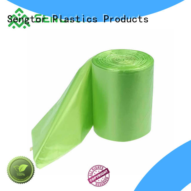Sengtor gradely bio compostable bags bulk production for cleaning