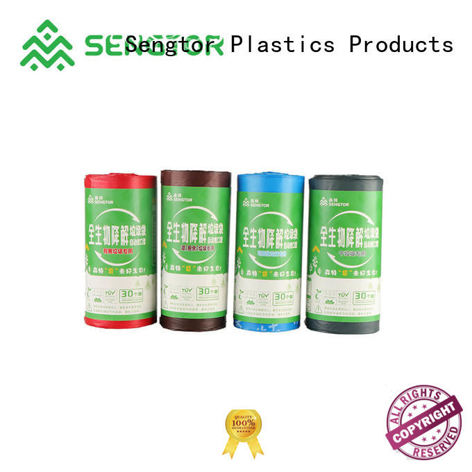 Sengtor high-quality bio compostable bags bulk production for shopping
