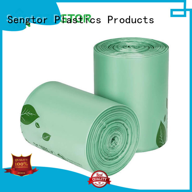 gradely biodegradable dustbin bags bottom bulk production for cleaning