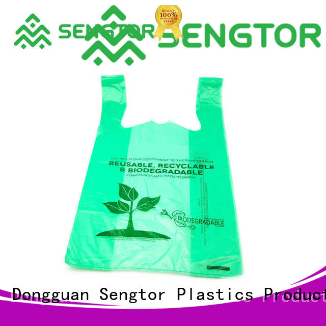 Sengtor fork biodegradable bags manufacturers long-term-use for worldwide customers