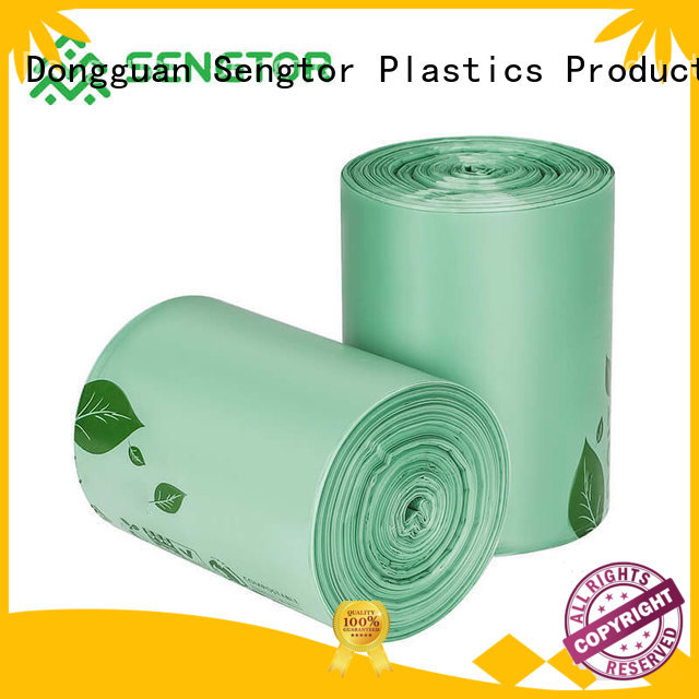 Sengtor compostable bio compostable bags experts for cleaning