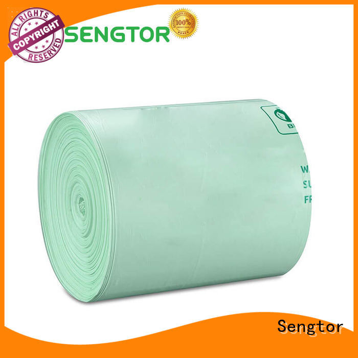 Sengtor cornstarch biodegradable bags manufacturers owner for worldwide customers