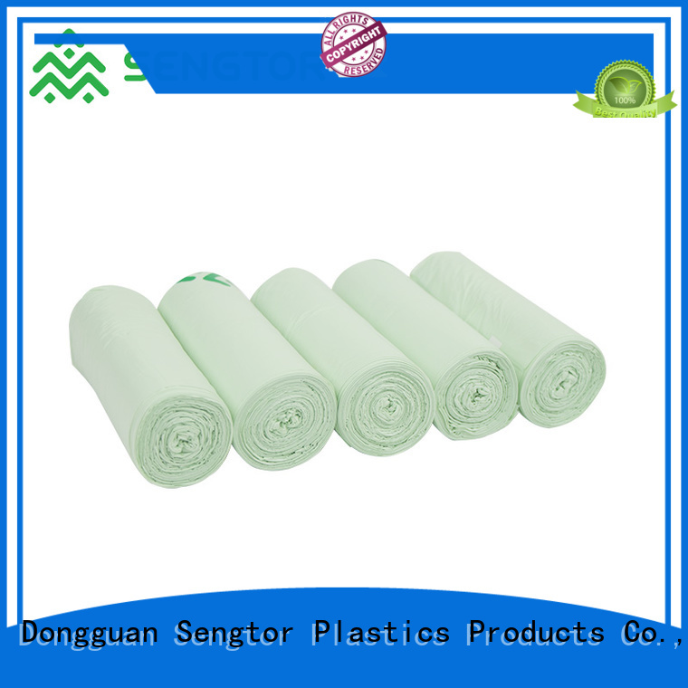 Sengtor low cost biodegradable waste bags supplier for shopping