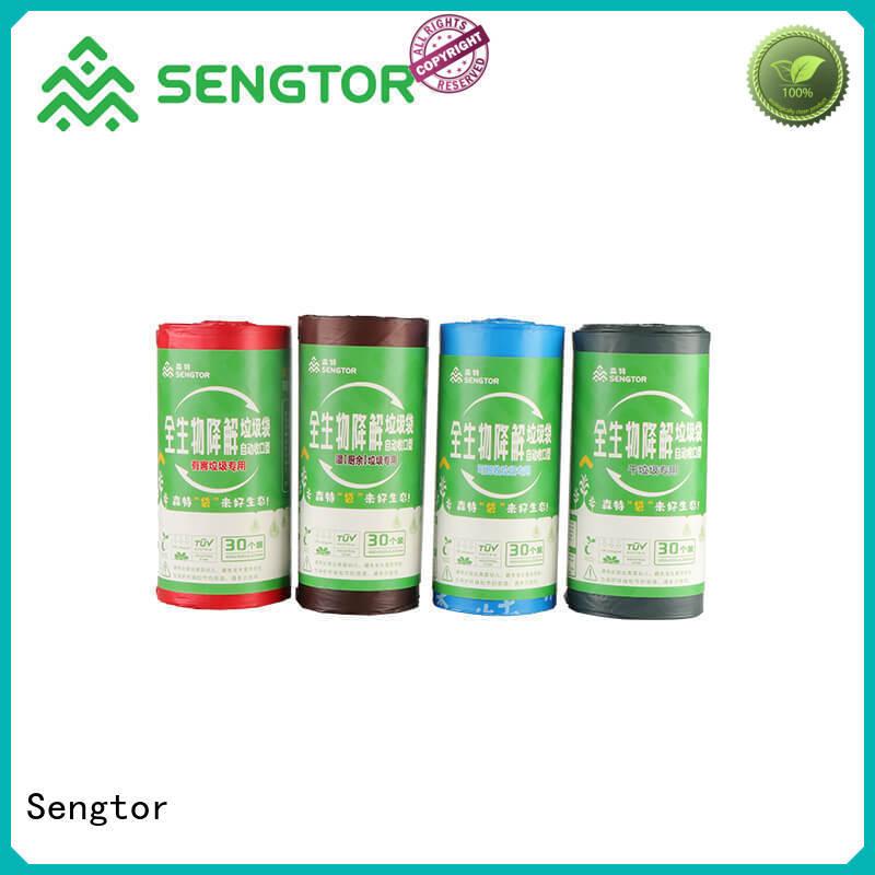 Sengtor industry-leading drawstring trash bag bulk production for shopping
