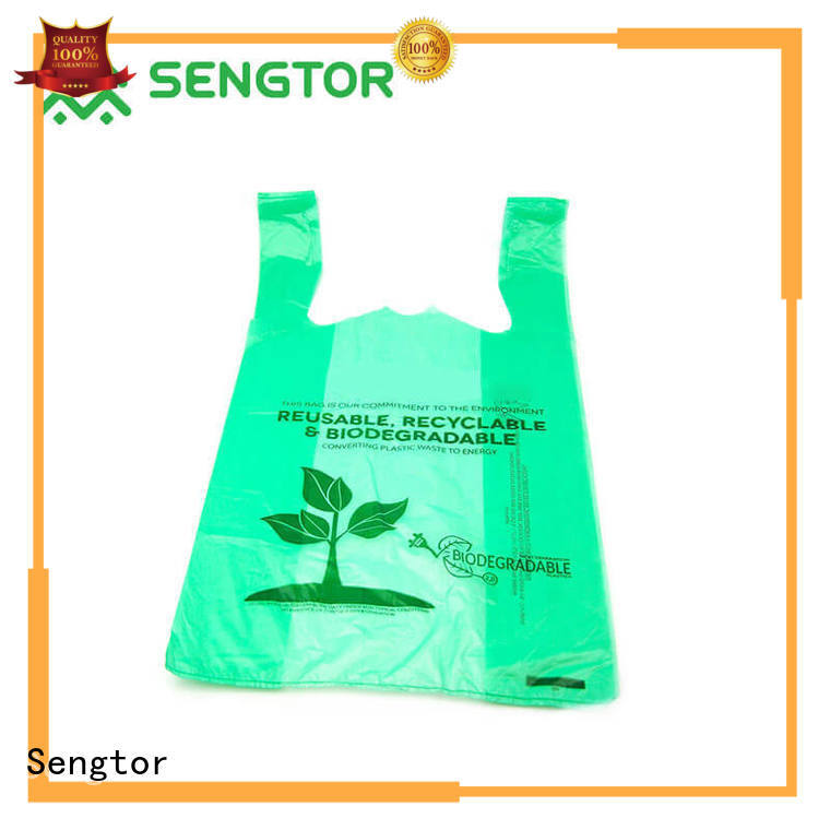 Sengtor biodegradable drawstring garbage bags experts for shopping