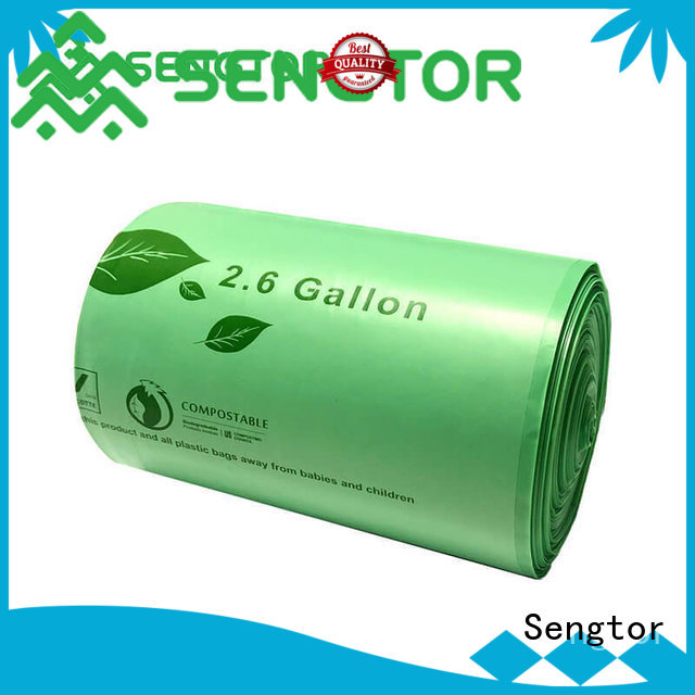 Sengtor bin biodegradable bags manufacturers widely-use for worldwide customers