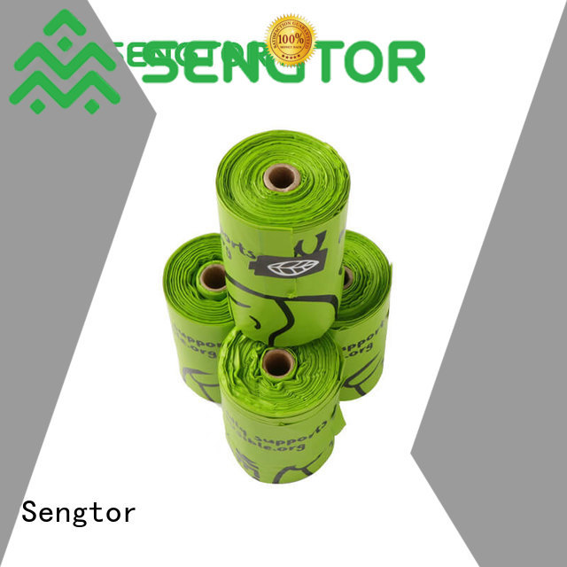 Sengtor durable biodegradable bags manufacturers China for cleaning