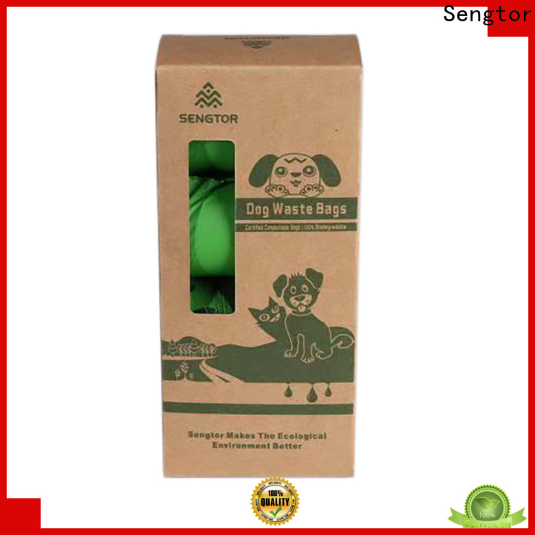 Sengtor advanced biodegradable pet waste bags wholesale for worldwide customers