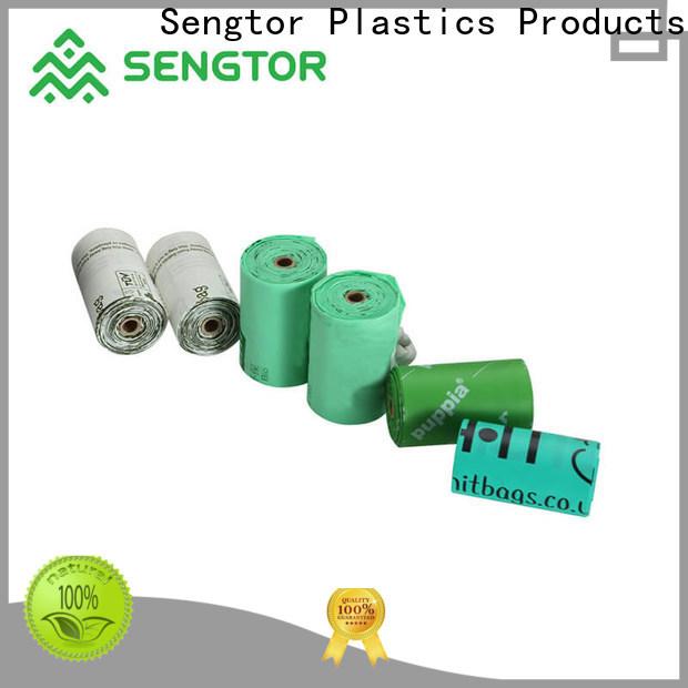Sengtor A Grade compostable dog poop bags free design for worldwide customers