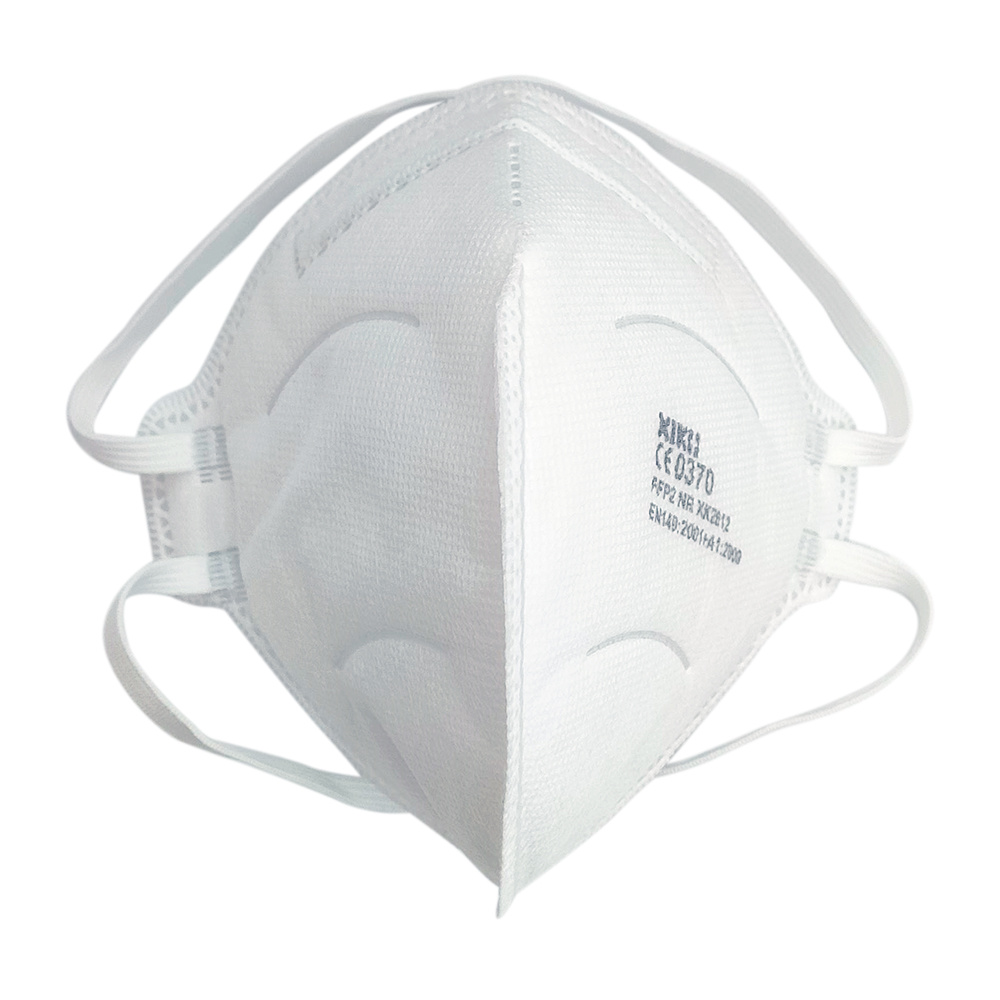 Head-wearing folding mask, KN95 level/FFP2 NR standard, 30 pcs/box