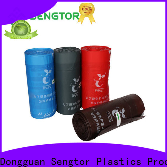 Sengtor liner biodegradable waste bags supplier for worldwide customers