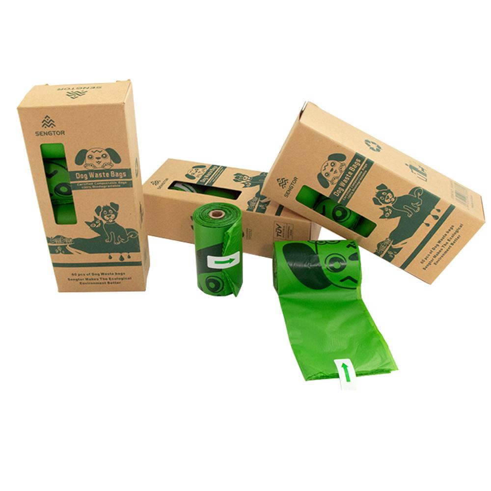 Pet degradable bag