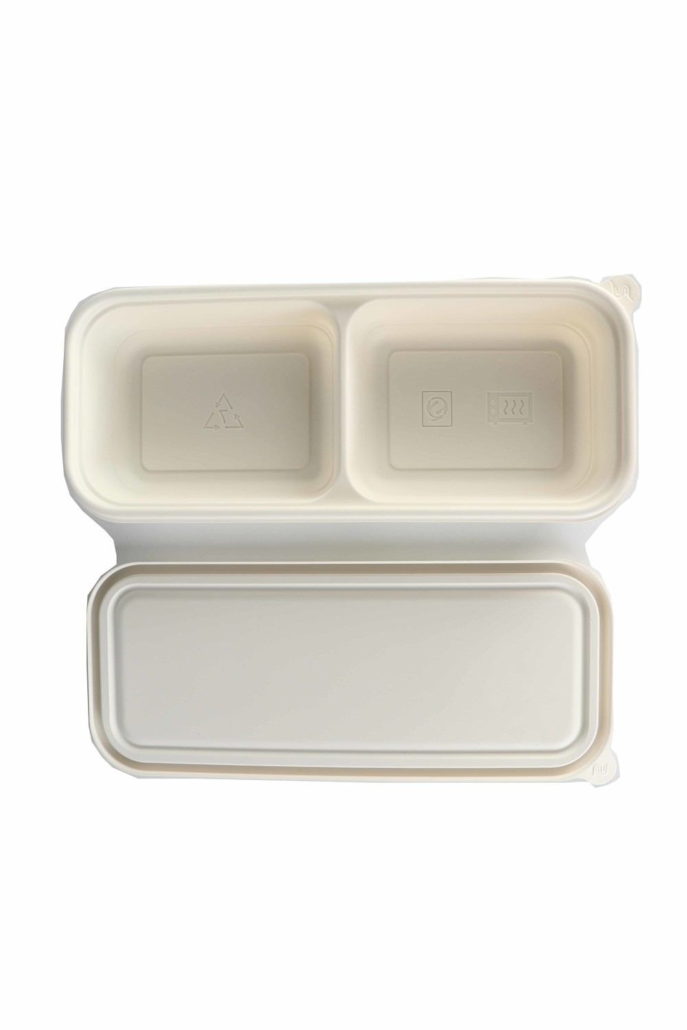 Disposable degradable lunch box