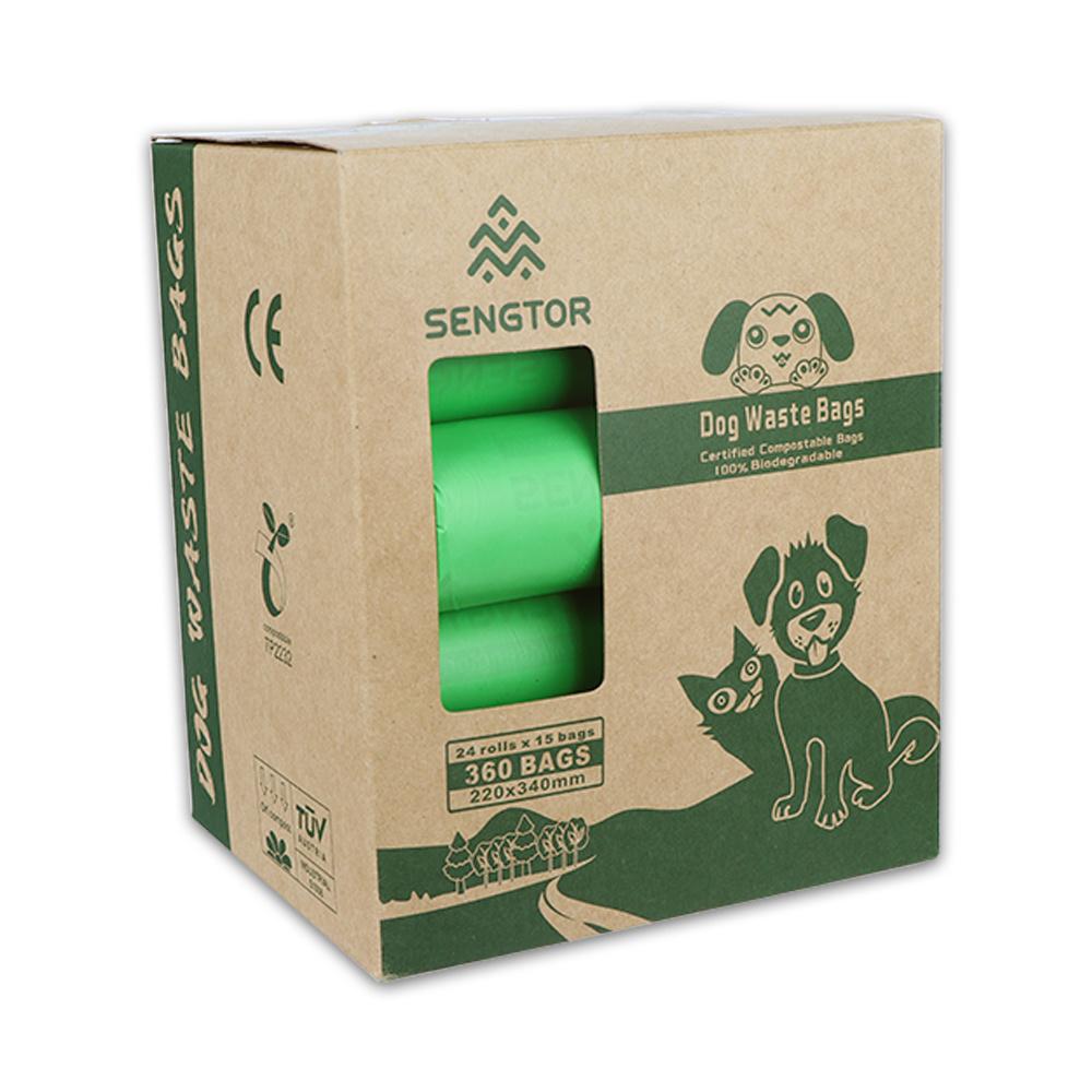 Biodegradable pet toilet bag (box)