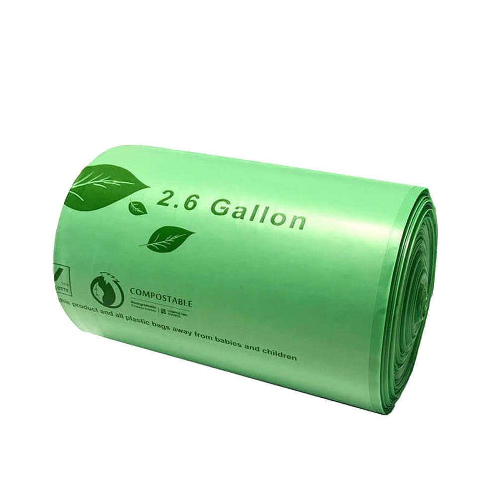 Full biodegradation garbage bag (round bottom flat mouth style)