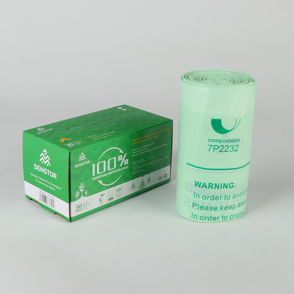 SENGTOR  Biodegradable drawstring bag