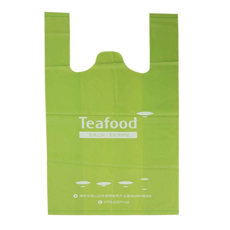 Kitchen vest degradable bag
