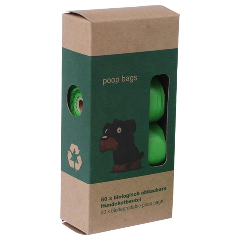 Biodegradable pet bag (dark green)