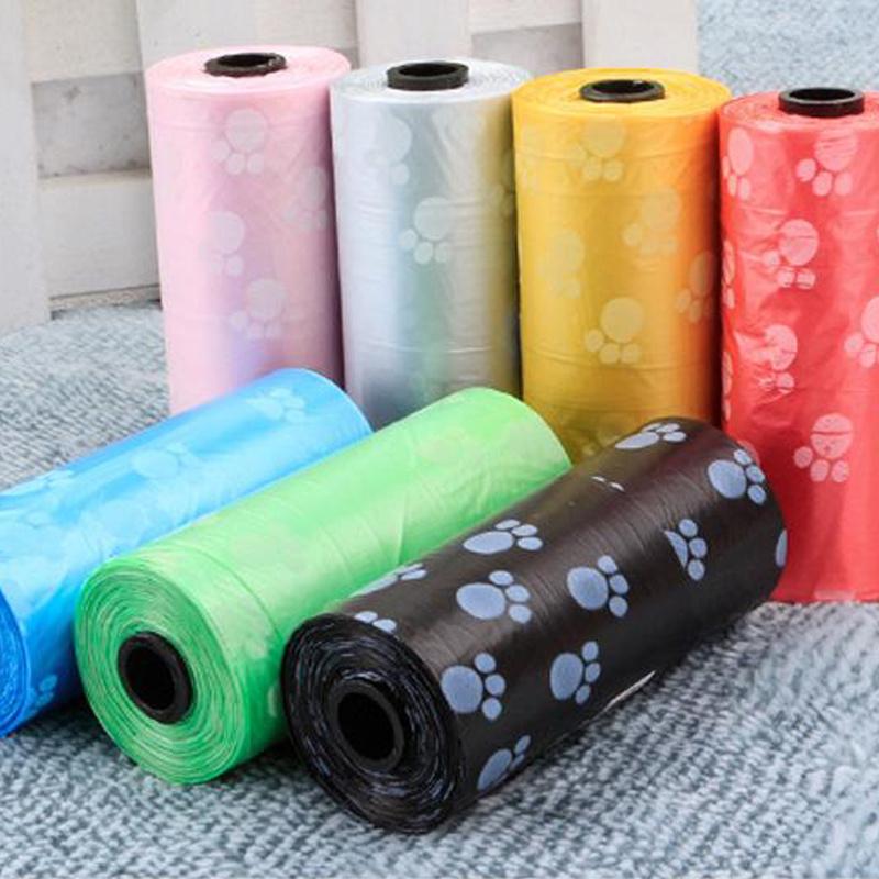 Biodegradable mixed color pet bag