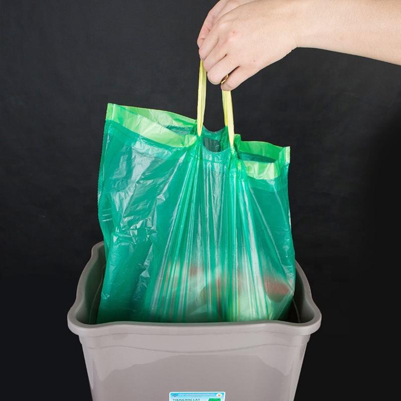 Biodegradable drawstring bag-2