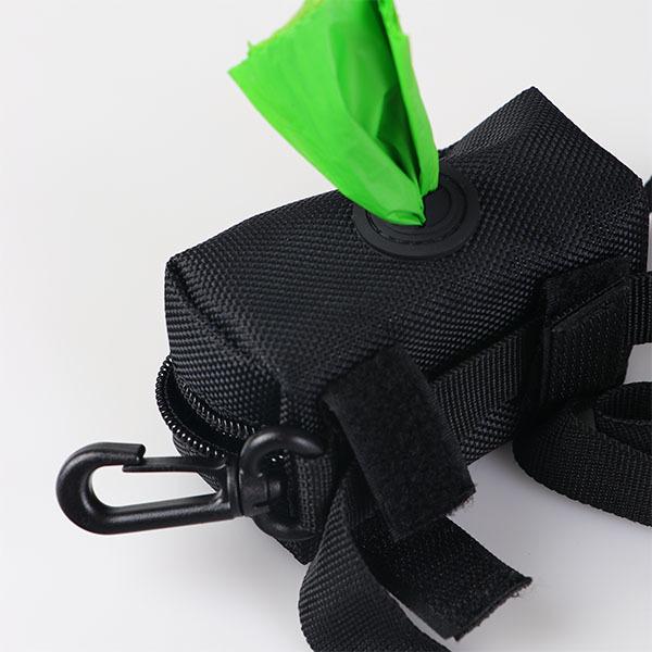 Black packaging Portable pet degradation bag