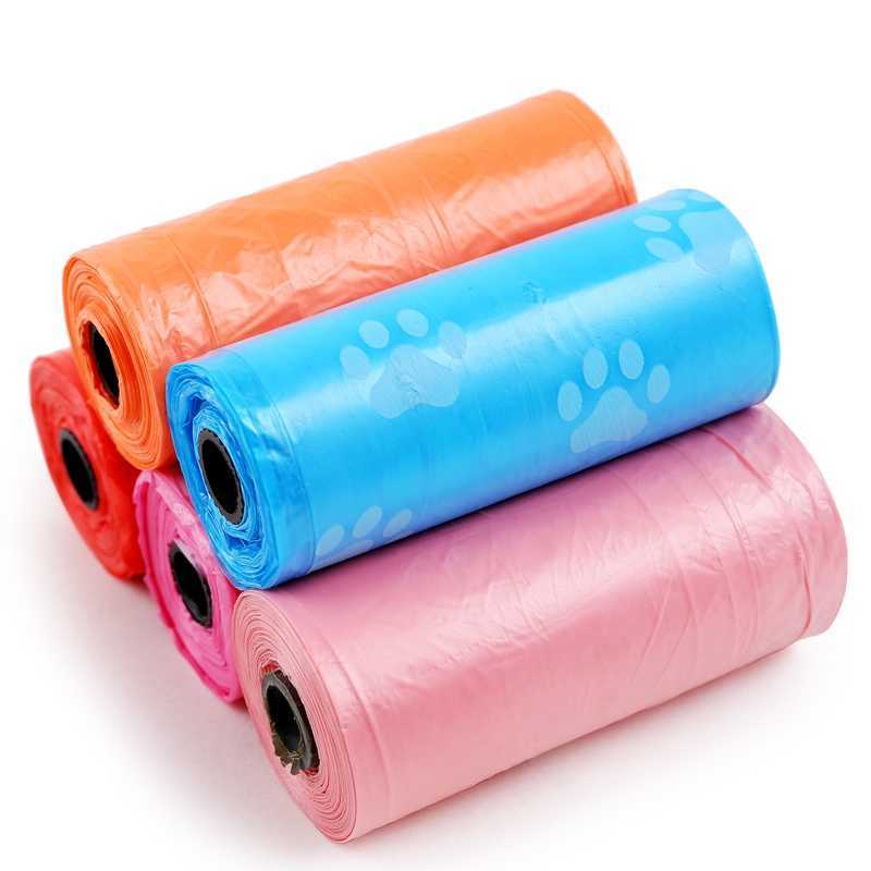Full biodegradable pet bag color series