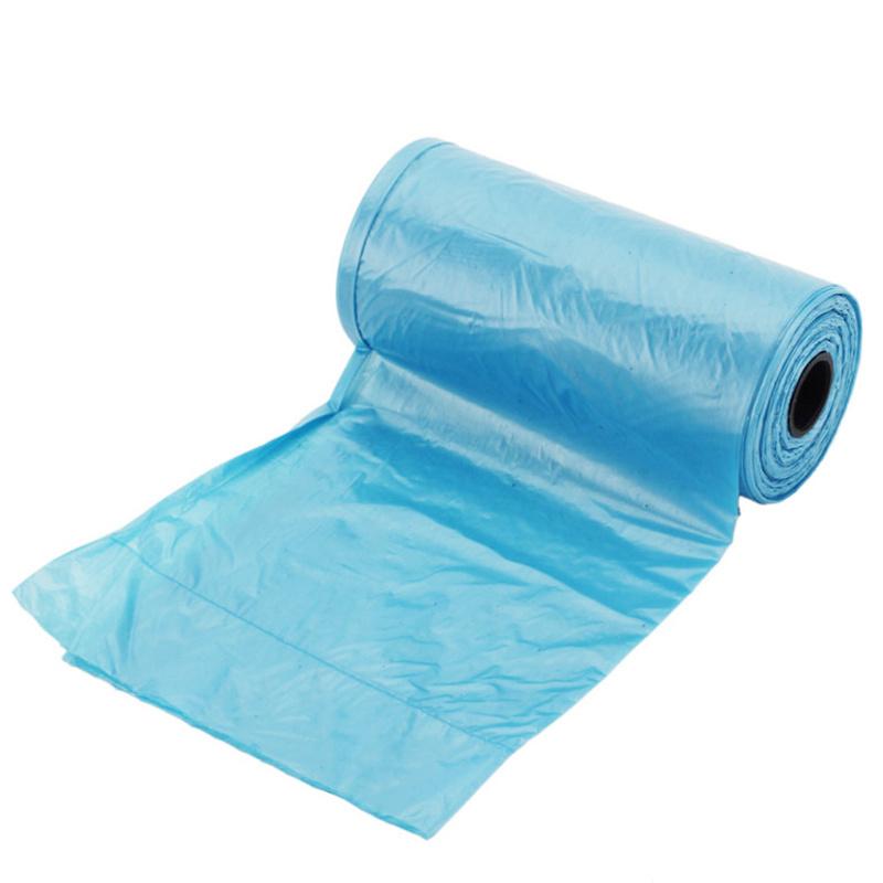 Light blue microbial degradation bag