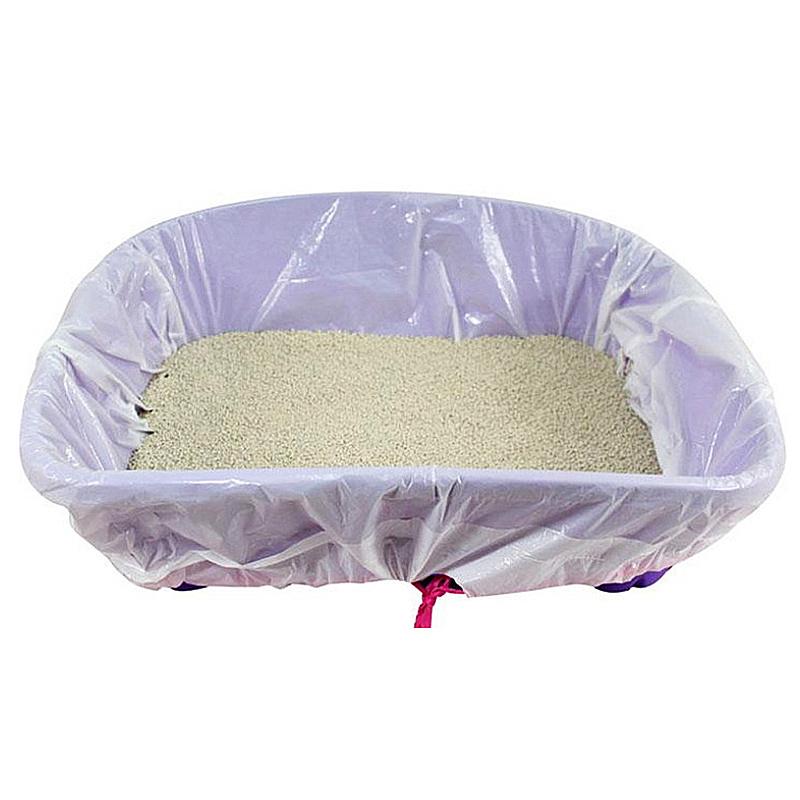 Microbial degradation cat sand bag