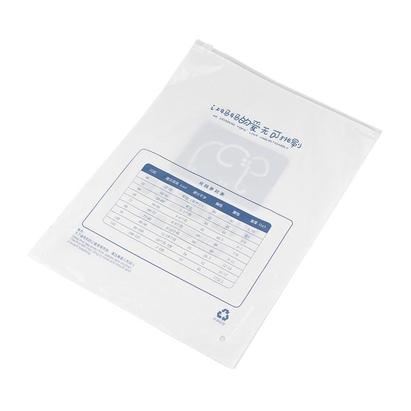 White eco-friendly clothing bag